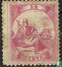 Allegorie van Liberia