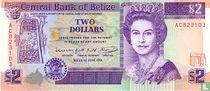 Belize 2 Dollars