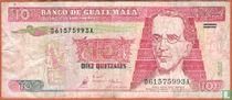 Guatemala 10 Quetzales