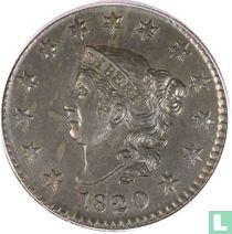 Verenigde Staten 1 cent 1820 (small date)