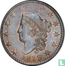 Verenigde Staten 1 cent 1819 (large date)