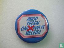 ABOP tegen onderwijs beleid!