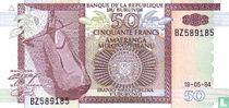 Burundi 50 Francs 1994