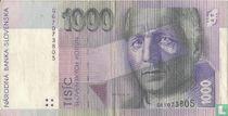 Slowakije 1000 Korun 1997