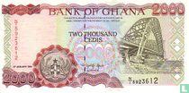 Ghana 2.000 Cedis 1995