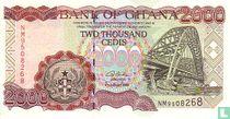 Ghana 2.000 Cedis 2003