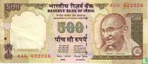 India 500 Rupees 2000 (A)