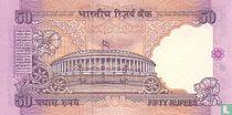 India 50 Rupees 1997