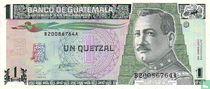 GUATEMALA 1 Quetzal