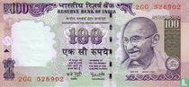 India 100 Rupees 2006