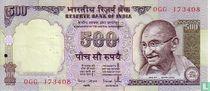 India 500 Rupees 2000
