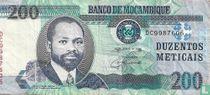 MOZAMBIQUE  200 Meticais
