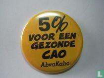 5% voor een gezonde CAO