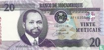 MOZAMBIQUE  20 Meticais