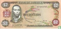 Jamaica 2 Dollars 1992