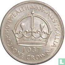 """Australië 1 kroon 1937 """"Coronation of King George VI"""""""