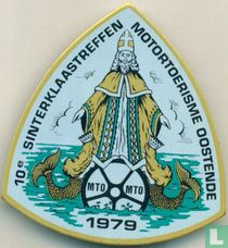 10e Sinterklaastreffen Motortoerisme Oostende 1979