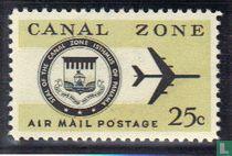 Wapen Kanaalzone en vliegtuig