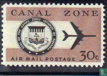 Wapen Kanaalzone met vliegtuig