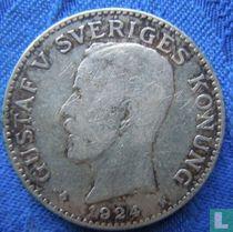 Zweden 2 kronor 1924
