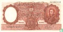 Argentinië 100 Pesos 1967