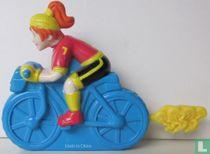 Boomer on bike