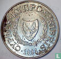 Cyprus 20 cents 1998