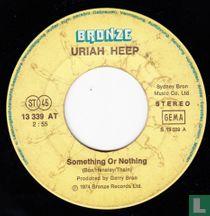 Someting or nothing