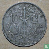 Bolivia 10 centavos 1907
