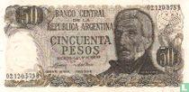 Argentinië 50 Pesos 1974