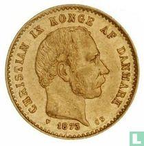 Denemarken 10 kroner 1873