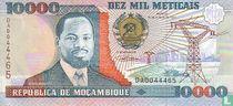 Mozambique 10,000 meticais