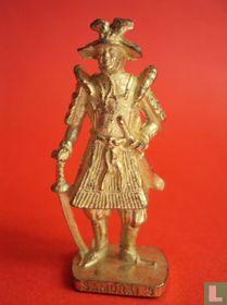 Samurai 3 (goud)