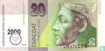 Slowakije 20 Korun