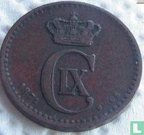 Denemarken 1 øre 1874
