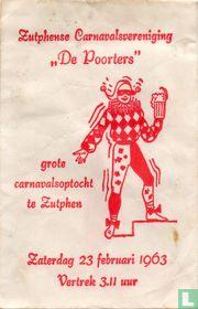 """Zutphense Carnavalvereniging """"De Poorters"""""""