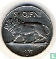 Albanië ¼ leku 1927