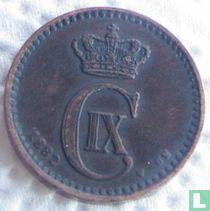 Denemarken 1 øre 1882