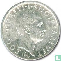 Albania 1 franga ar 1937