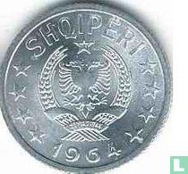 Albanië 5 qindarka 1964