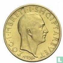 Albania 20 franga ari 1938