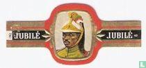 Soldaat van de lijfgarde van de president   1961  Katanga