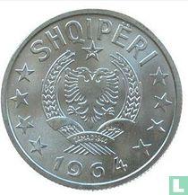Albania 50 qindarka 1964
