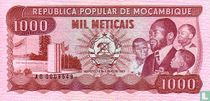 MOZAMBIQUE 1 000 Meticeis