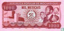 MOZAMBIQUE Meticais 1 000