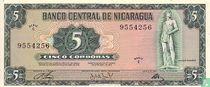 Nicaragua 5 Córdobas
