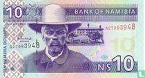 Namibia 10 Namibia Dollars ND (2001)