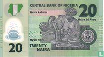 Nigeria 20 Naira 2006
