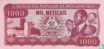 Mozambique 1,000 Meticais 1989