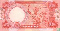 Nigeria 10 Naira ND (1984-) P25e